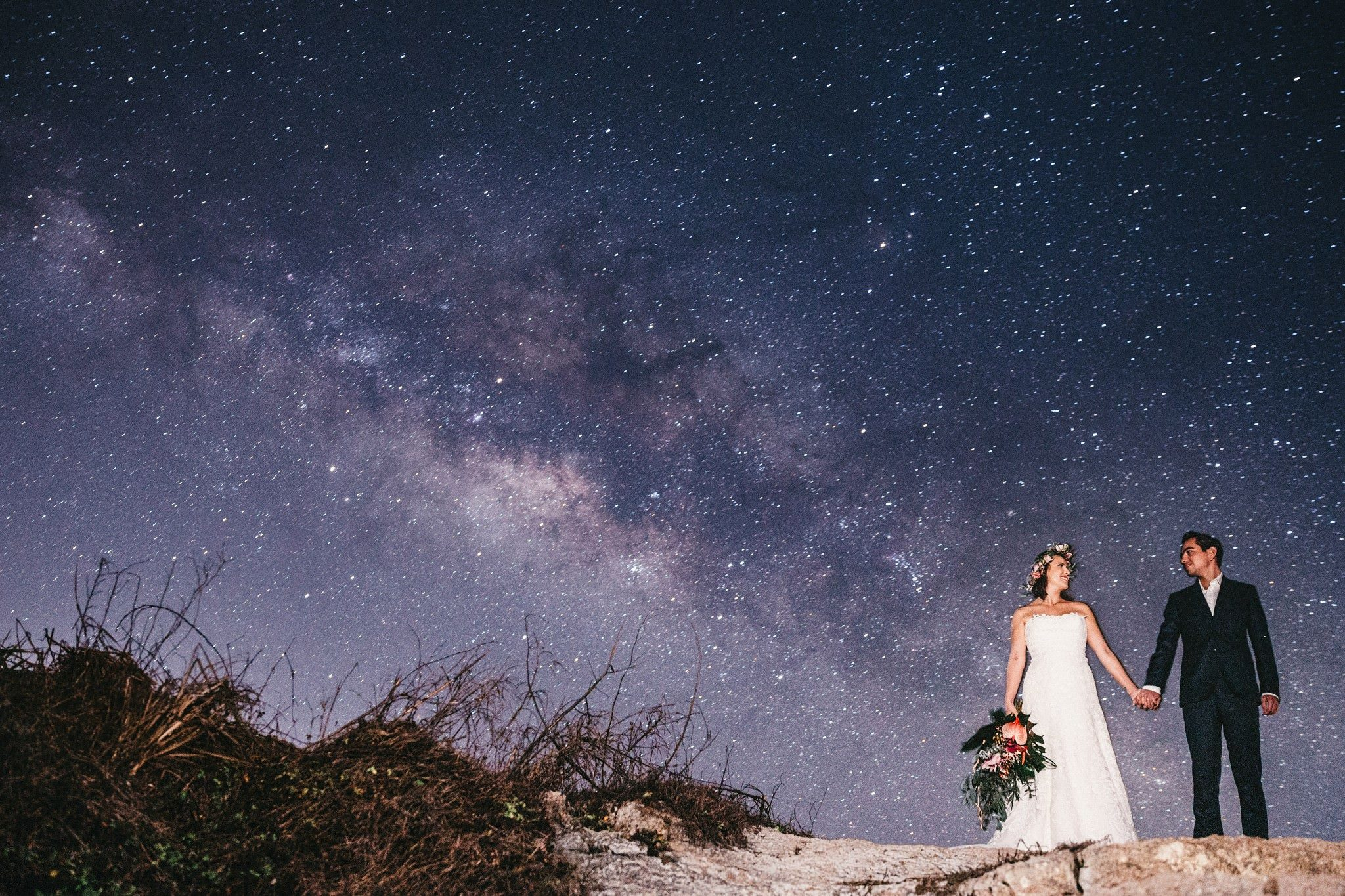 astro fotografía wedding